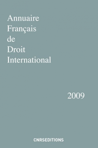Annuaire français de droit international 55
