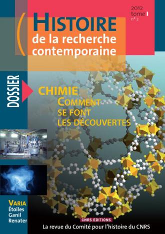 Histoire de la recherche contemporaine - tome 1 N°2