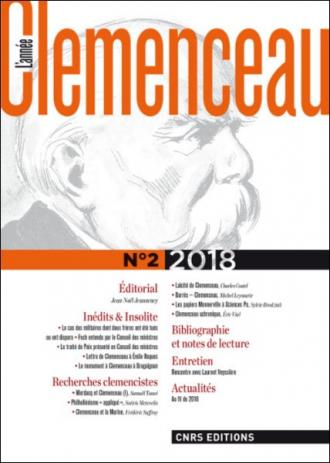 L'Année Clemenceau n° 2 2018
