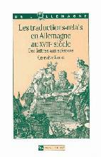 Les Traductions-relais en Allemagne au XVIIIe siècle