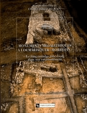 Monuments mégalithiques à Locmariaquer (Morbihan)