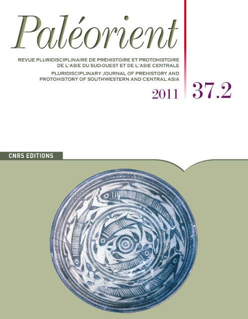 Paléorient 37.2