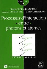 Processus d'interaction entre photons et atomes
