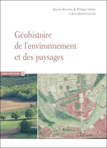 Géohistoire de l'environnement et des paysages