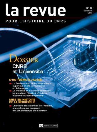 Dossier : Le CNRS et l'Université