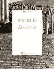 Antiquités Africaines T 37 - 2001
