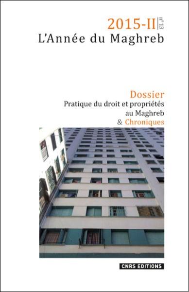 Année du Maghreb 2015-II n°13