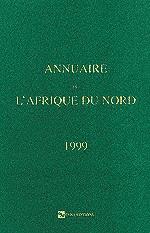 Annuaire de l'Afrique du Nord T 38 - 1999