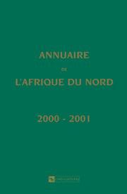Annuaire de l'Afrique du Nord T 39 - 2000/2001