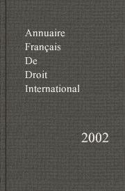 Annuaire français de droit international 48