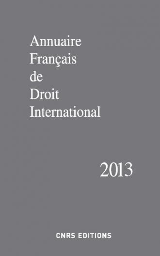 Annuaire français de droit international 59