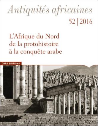 Antiquités africaines 52 - 2016