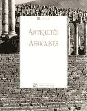 Antiquités Africaines T 36 - 2000