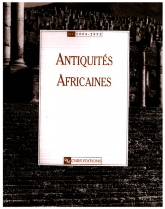Antiquités Africaines T 42 - 2006