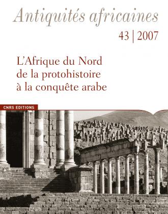 Antiquités africaines T 43 - 2007