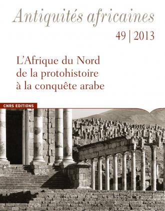 Antiquités Africaines T 49