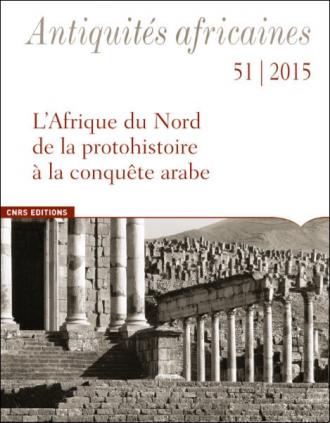 Antiquités africaines T 51 - 2015