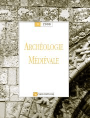 Archéologie médiévale 38