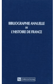 Bibliographie annuelle de l'histoire de France 02
