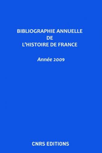 Bibliographie annuelle de l'histoire de France 55