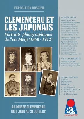 """Conférence """"Clemenceau et les japonais"""" avec Matthieu Séguéla - 28 juin"""