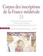 Corpus des inscriptions de la France médiévale 23