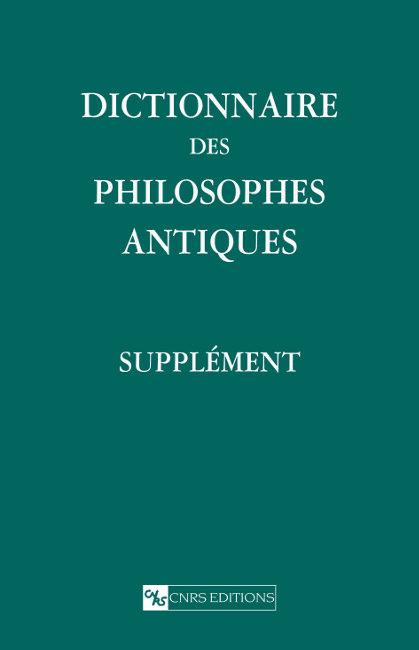 Dictionnaire des philosophes antiques (supplément)