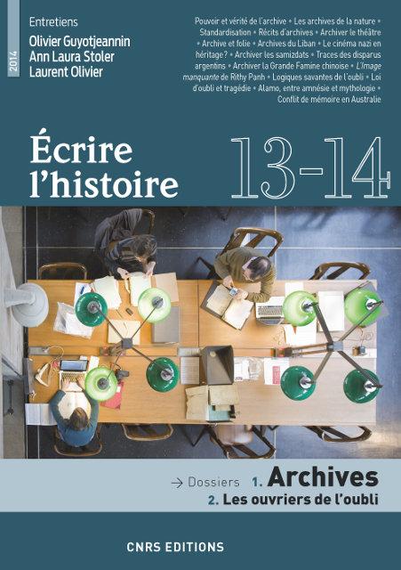 Écrire l'histoire 13-14