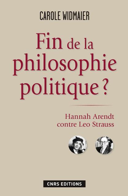 Fin de la philosophie politique ?