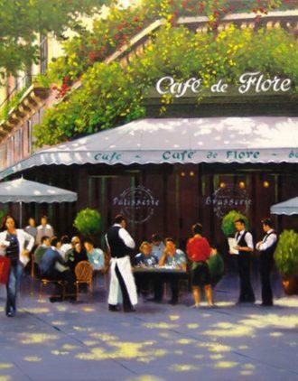Gilles Fumey au Café de Flore - le 27 novembre