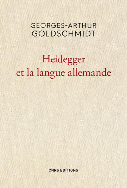 Heidegger et la langue allemande