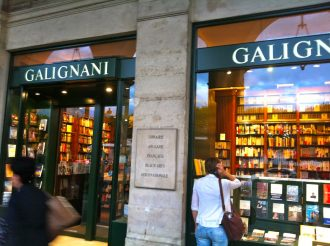 Hervé de Charette à la librairie Galignani le 7 février