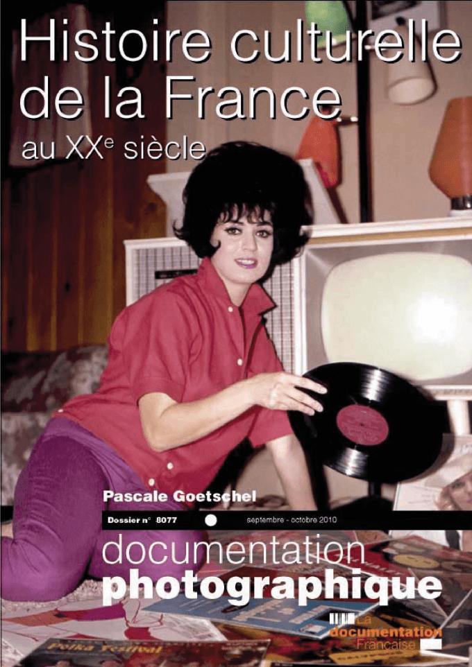 HISTOIRE CULTURELLE DE LA FRANCE AU XXE SIECLE