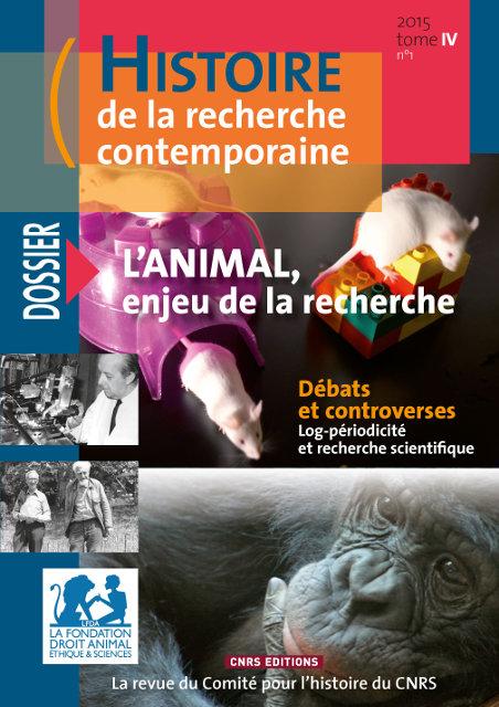 Histoire de la recherche contemporaine - tome 4 N°1