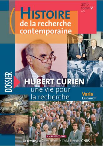 Histoire de la recherche contemporaine Tome 5 n°2