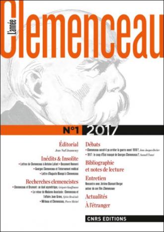 L'Année Clemenceau n° 1 2017