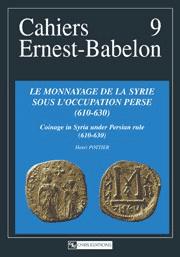 Le Monnayage de la Syrie sous l'occupation perse (610-630)