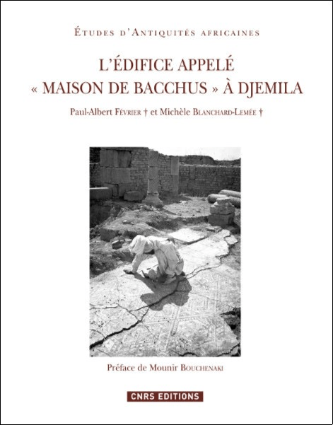 """L'édifice appelé """"Maison de Bacchus"""" à Djemila"""