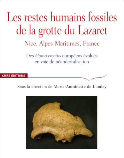 Les restes humains fossiles de la grotte du Lazaret