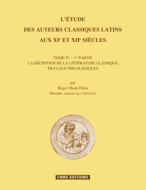 L'étude des auteurs classiques latins aux XIeme et XIIeme siècles