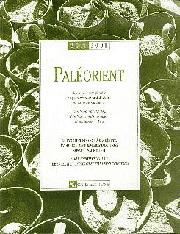 Paléorient 27-1
