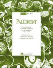 Paléorient 28-1