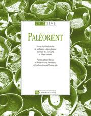Paléorient 28-2