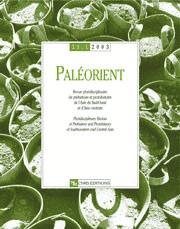 Paléorient 29-1