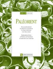 Paléorient 32-2
