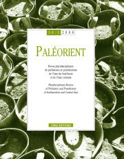 Paléorient 34-1