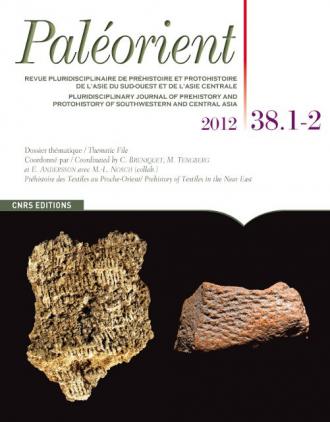 Paléorient 38. 1