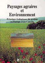 Paysages agraires et environnement