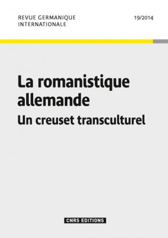 Revue Germanique Internationale 19