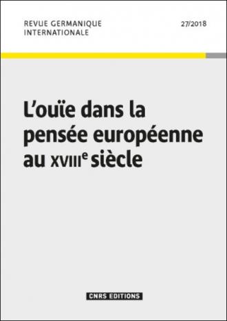 Revue Germanique Internationale 27